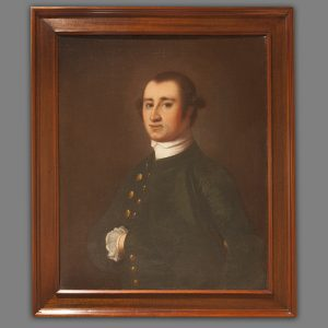 "Humphrey Sommers (1711-1788) Jeremiah Theus (c. 1719 - 1774) 1750 - 1755 Charleston, South Carolina Oil on canvas HOA: 30"", WOA: 25"" MESDA Purchase Fund (acc. 3974)"