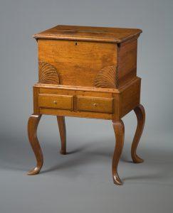 """Cellaret Henry Macy (1773-1846) Guilford or Randolph County, North Carolina Walnut and poplar HOA: 31 3/4"""", WOA: 21 7/8"""", DOA: 17 5/8"""" Anonymous Gift (5334)"""