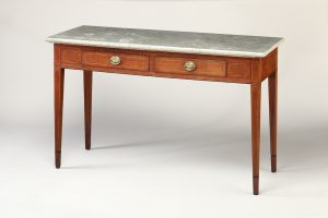 Sideboard Table Lexington, Kentucky 1800-1810 Cherry, poplar, and Kentucky limestone Loan courtesy of MESDA Advisory Board members Mack and Sharon Cox