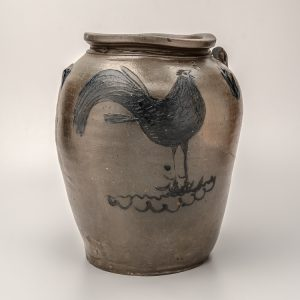 "Five-Gallon Storage Jar Stephen B. Sweeney (1799-1863) Bailey's Creek, Henrico County, Virginia 1838-1862 Salt-glazed stoneware HOA: 15""; DIA: 11"" Private Collection (5825)"