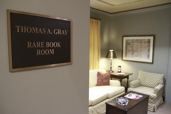 Thomas A. Gray Rare Book And Manuscript Collection | Exhibit Categories |  Mesda